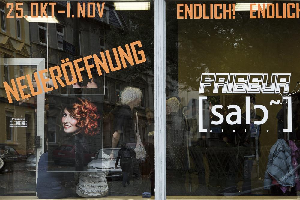Friseursalon: Neueröffnung