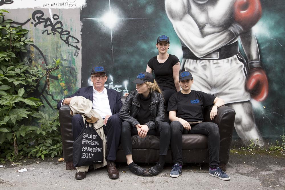 Union Produktion: Kasper König, Nicola Gördes, Astrid Wilk, Silke Schönfeld